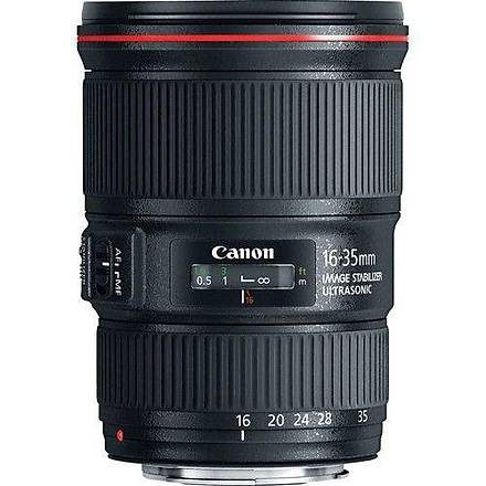 Canon EF 16-35mm f/4L IS USM Lens Eurasia Garantili