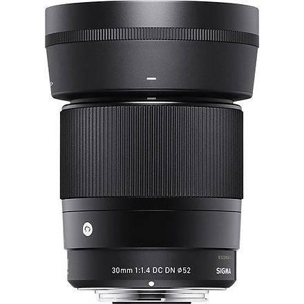 Sigma 30mm f/1.4 DC DN Contemporary Lens Sony Uyumlu