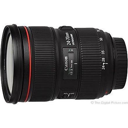Canon EF 24-70mm f/2.8L II USM Canon Eurasia Garantili