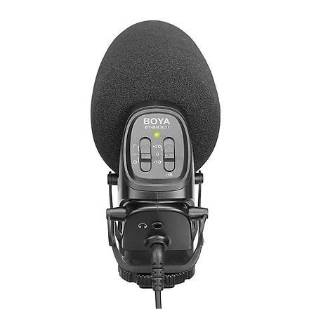 Boya BY-BM3031 Video Kamera Üstü Prof. Shotgun Mikrofon