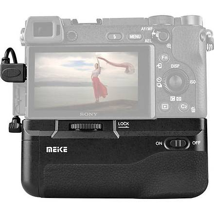 MeiKe Sony A6300 Ýçin MeiKe MK-A6300 Battery Grip + 2 Ad. NP-FW50 Batarya
