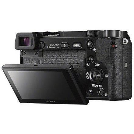 Sony A6000 16-50mm + 55-210mm Çift Lensli Fotoðraf Makinesi (Black)