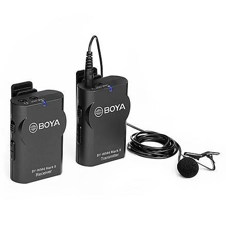 Boya BY-WM4 PRO Android Ýos Telefon Ýçin Kablosuz Mikrofon