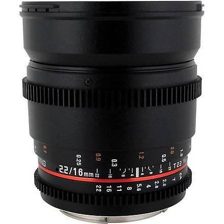 Samyang VDSLR 16mm T2.2 ED AS UMC CS Sony E Uyumlu Lens