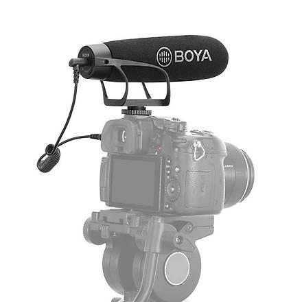 Boya BY-BM2021 Vlogger Prof. Shotgun DSLR Kamera Mikrofonu