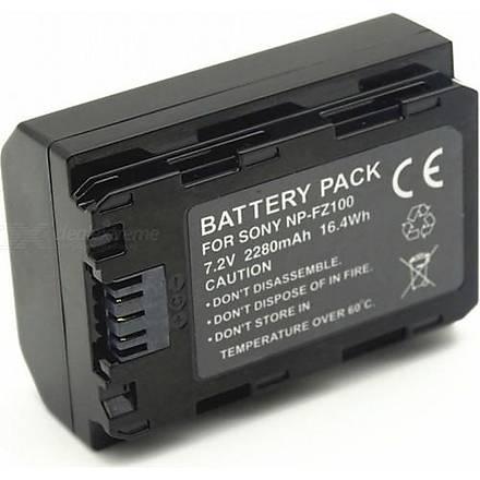 Sanger Sony NP-FZ100 Batarya + Þarj Cihazý (A7 Iýý , A7 Rýýý , A9)