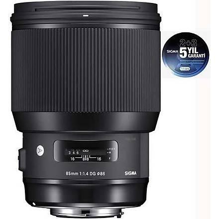 Sigma 85mm f/1.4 DG Hsm Art - Canon Uyumlu