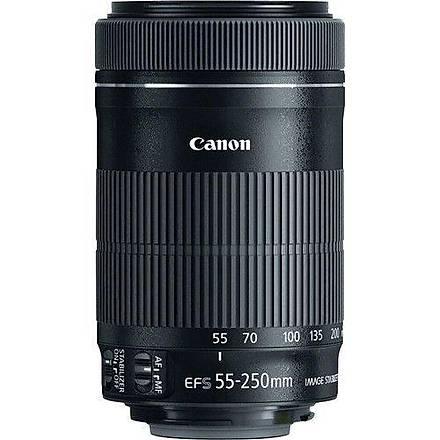 Canon EF-S 55-250mm STM f/4-5.6 IS II Lens Distribütör Garantili