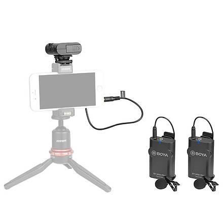 Boya BY-WM4 Pro K2 Youtuber Wireless (Kablosuz) Ýkili Yaka Mikrof
