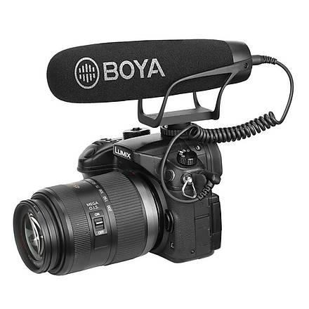 Boya BY-BM2021 Öndeki Sesi Alan Cardioid Shutgun Mikrofon