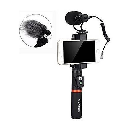 Comica CVM-VM10 K1 Kavrama Kolu ile Video Mikrofon