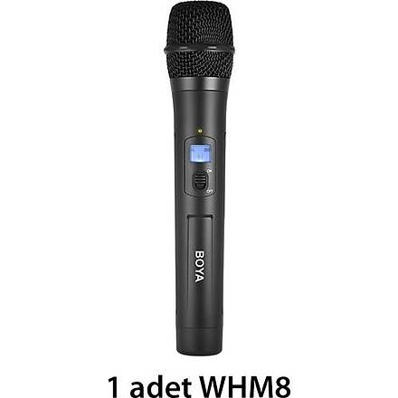 Boya BY-WHM8 Kablosuz Dinamik El Tipi Mikrofon Seti v2