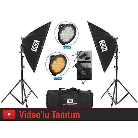 GDX PRO TLB LED 500 3200K-5500K Youtuber Led , SoftBox Seti