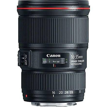 Canon 16-35mm F/4L IS USM Geniþ Açý Lens Ýthalatcý Garantili