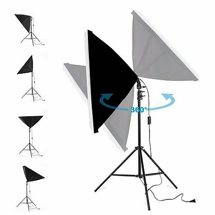 Softbox 50x70cm Sürekli Iþýk Video ve Ürün Çekim, Youtube Make up