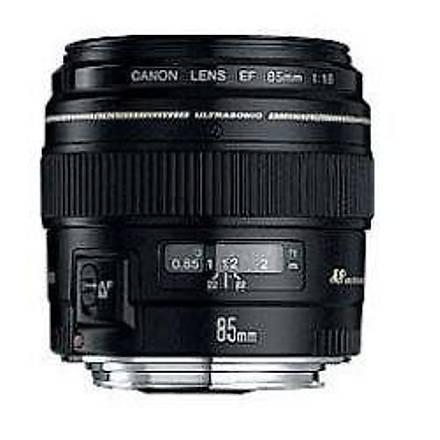 Canon EF 85mm f/1.8 USM Lens Distribütör Garantili