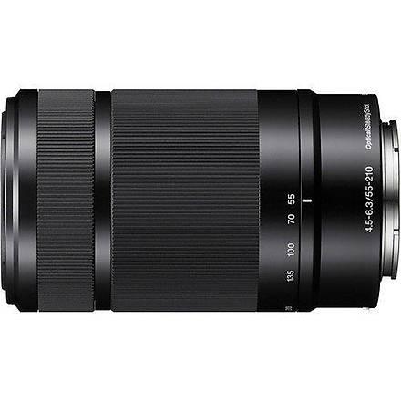 Sony SEL 55-210mm f/4.5-6.3 Lens Black