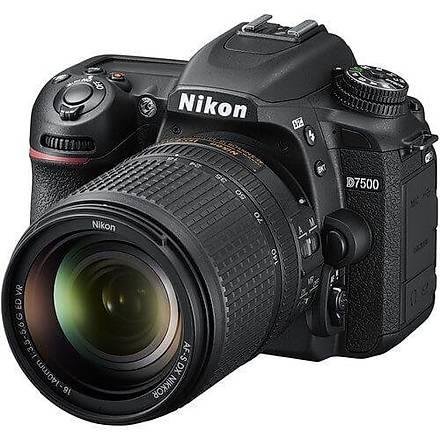 Nikon D7500 18-140mm Kit DSLR Fotoðraf Makinesi Ýthalatcý Garantili
