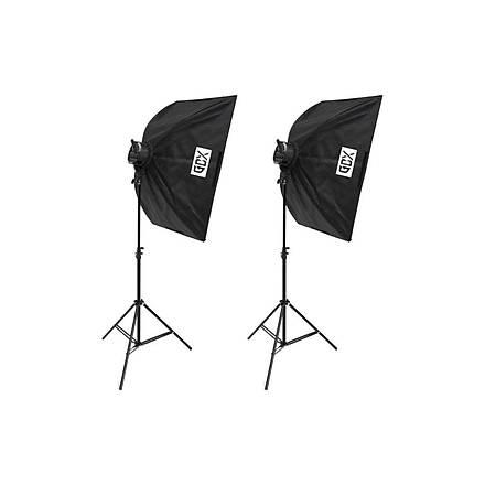 Gdx Pro Tlb-5 650W Makeup Kitblogger Kit Softbox Seti 2'li