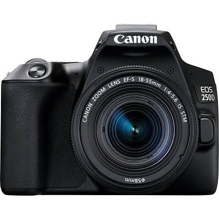 Canon Eos 250D 18-55mm IS Stm Black