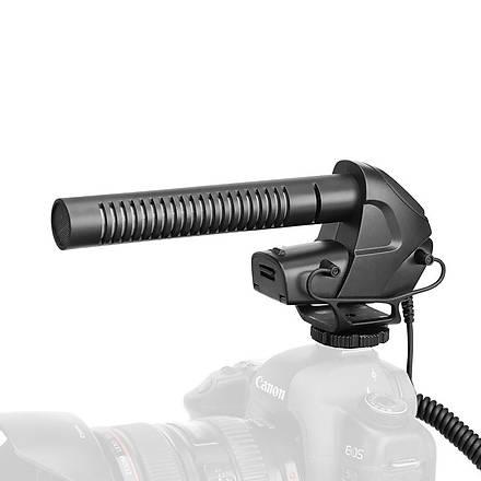 Boya BY-BM3031 Youtuber Prof. Shotgun DSLR Tepe Mikrofonu