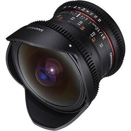 Samyang 12mm T3.1 VDSLR ED AS NCS Full Frame Nikon