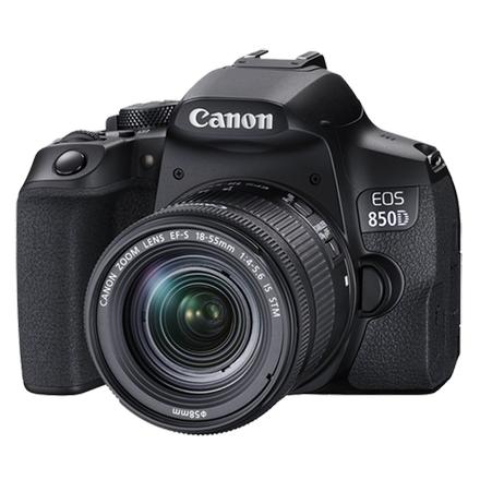 Canon EOS 850D 18-55mm IS STM Lensli Fotoðraf Makinesi