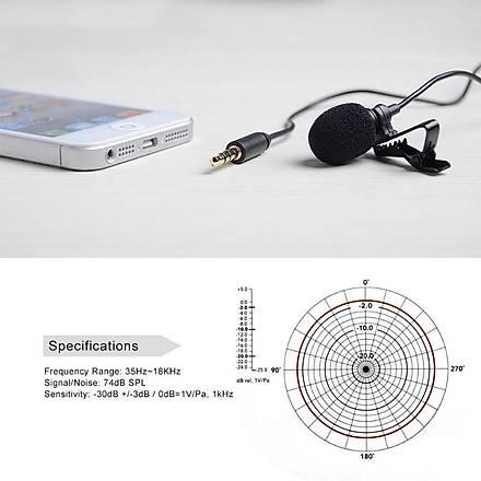 General Mobile Android One Ýçin Yaka Mikrofonu Boya BY-LM10
