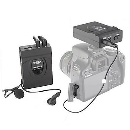 Nikon Ýçin Boya BY-WM5 Kablosuz Yaka Mikrofonu