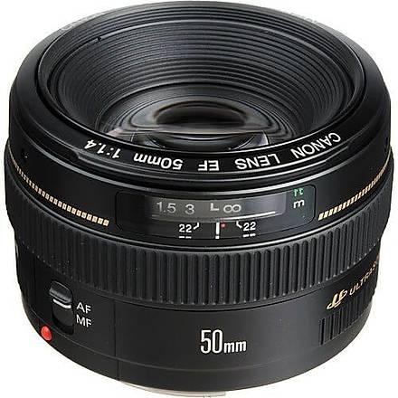 Canon 50mm F/1.4 USM Lens Ýthalatcý Garantili