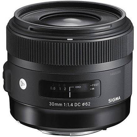 Sigma 30mm f/1.4 DC HSM ART Lens (Canon EF)