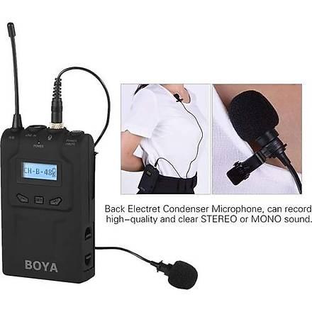 Boya TX8 Pro Kablosuz Mikrofon Vericisi