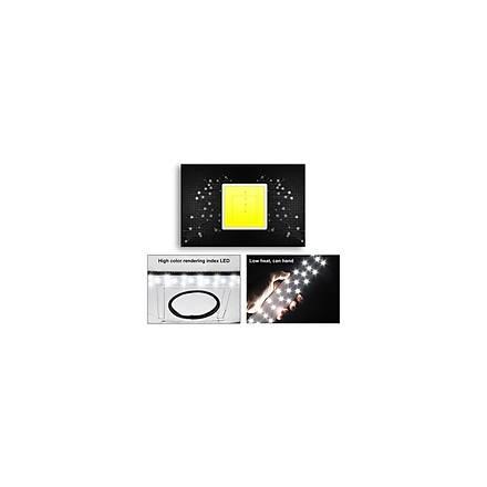 Puluz Profesyonel 40 x 40CM LED Iþýklý Ürün Fotoðraf Çekim Çadýrý Katlanabilir Portatif 30W 5500K AL-32482