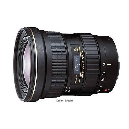 Tokina AT-X 14-20mm f/2 PRO DX Objektif (Canon)