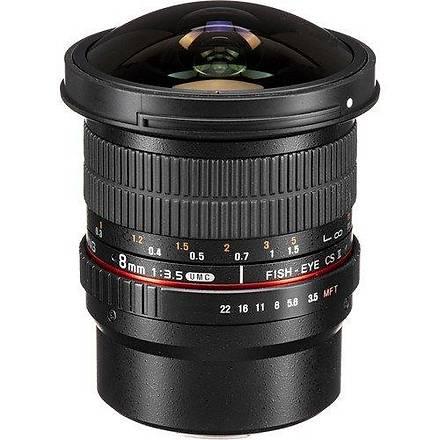 Samyang 8mm T3.8 VDSLR MFT Uyumlu Lens