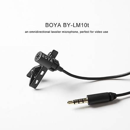 Boya BY-LM10 Vlogger Yaka Mikrofonu Telefon Ýçin