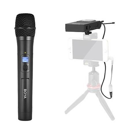 Boya BY-WHM8 Pro DSLR Aynasýz Makineler Ýçin Kablosuz El Mikrofon