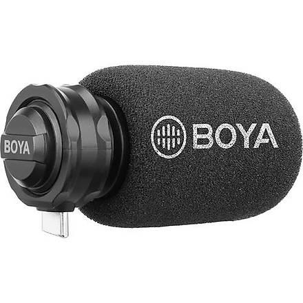 Boya BY-DM100 Type-C Giriþli Telefon Mikrofonu