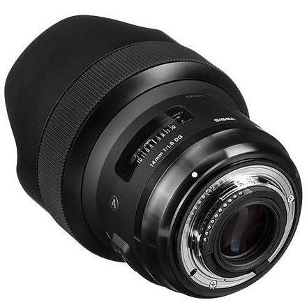 Sigma 14mm f/1.8 DG HSM Art Lens for Nikon F