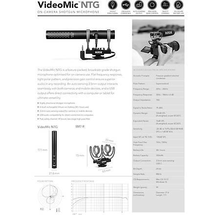 RODE VideoMic NTG Mikrofon