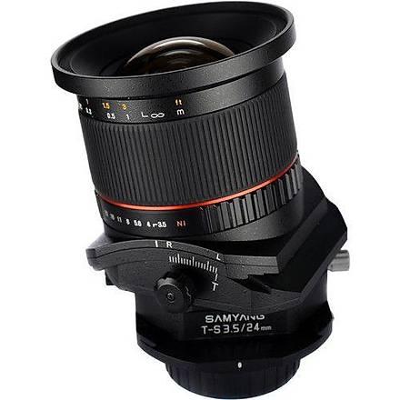 Samyang T-S 24mm f/3.5 Sony Uyumlu Lens
