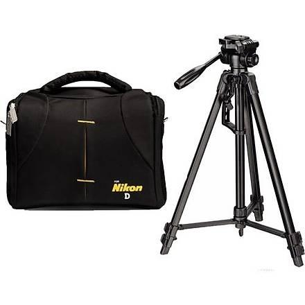 Nikon D3400 Fotoðraf Makinesi Ýçin 170cm Tripod + Set Çanta