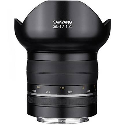 Samyang XP 14mm f/2.4 Lens (Nikon AE)