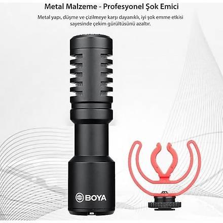 Boya By-Mm1+ Condenser Shotgun Mikrofon
