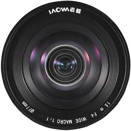 Laowa Venus 15mm f/4 Wide Angle Macro Lens