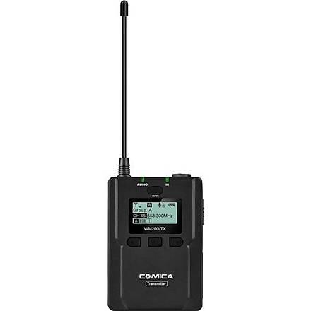 Comica CVM-WM200TX 96 Kanal Ful Metal UHF Professional Mikrofon