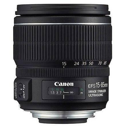 Canon EF S 15-85mm f/3.5-5.6 IS USM Lens Distribütör Garantili