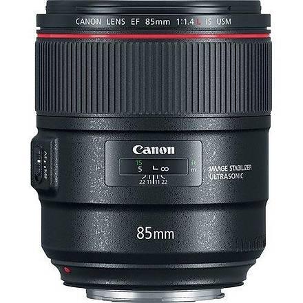 Canon EF 85mm f/1.4L IS USM Lens Eurasia Garantili