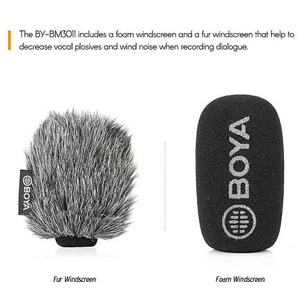 Boya BY-BM3011 Youtuber ve Vlogger Condenser Mikrofon
