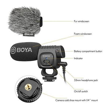 Boya BY-BM3011 General Mobile G2 G3 G4 GM5 Ýçin Mikrofon